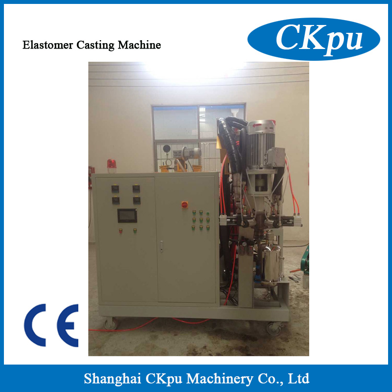 PU roller casting machine