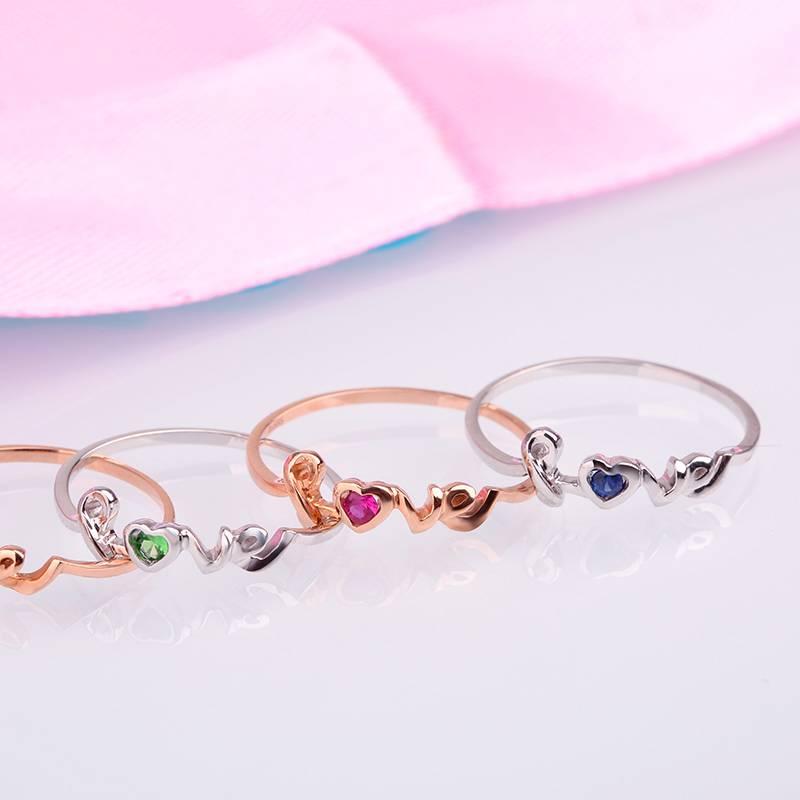 14K Gold & Gem Natural Ruby Engagement Ring for Women