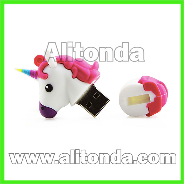 Mini cartoon USB flash driver for promotional gifts
