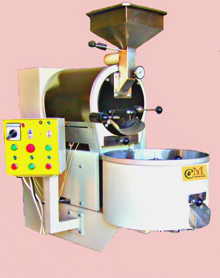 Coffee Roaster with capacity 10 kg per cycle
