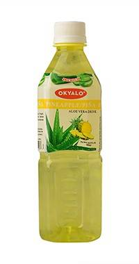 okyalo: pineapple aloe vera drink, Okeyfood