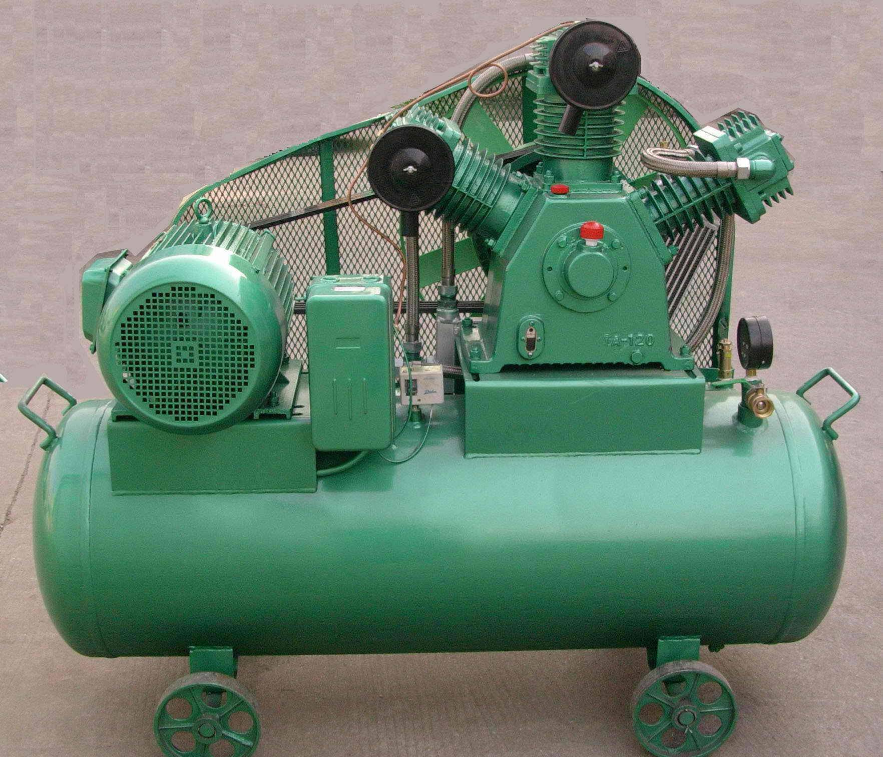 30bar  middle/high air compressor , air cooling