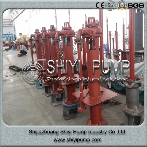 Heavy Duty Vertical Submersible Slurry Centrifugal Pump for Water Treatment