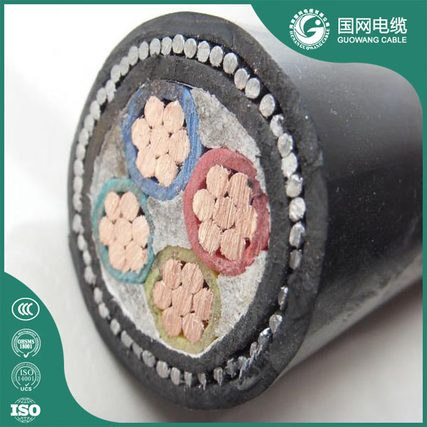 0.6/1KV Copper Conductor XLPE/PVC Insulated Low Voltage Power Cable