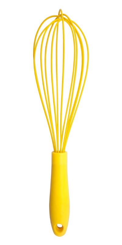 Silicone Whisk With PP Handle 12 inches