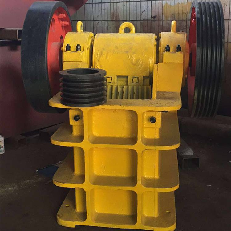 2016 jaw cursher PE250*400 with broken granularity simple structure the first choice to raw material