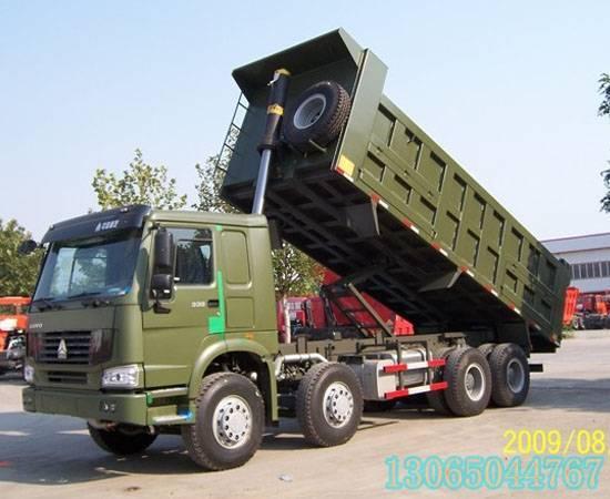 howo  dump  truck8x4