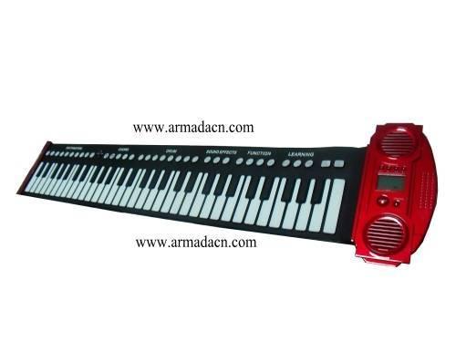 new design 61keys Roll Up piano