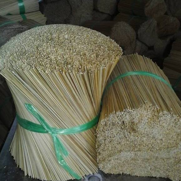 Round Bamboo Sticks For Incense