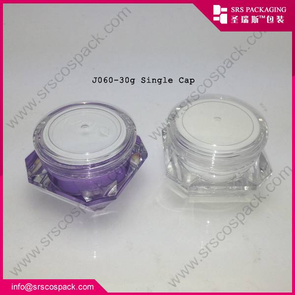 High Quality Acrylic Cream Jar