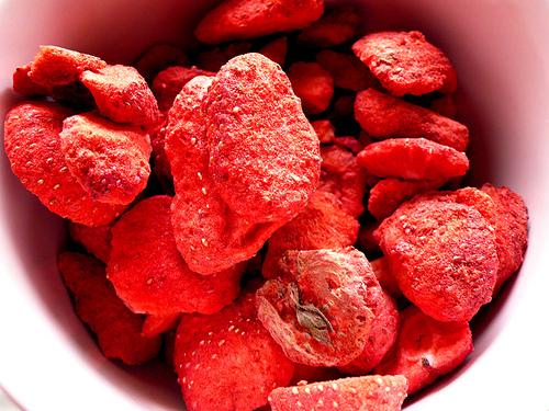 Freeze Dried Strawberry Slice