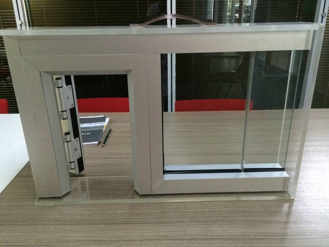 Single Glass Partition,Double glazed 10 + 10mm