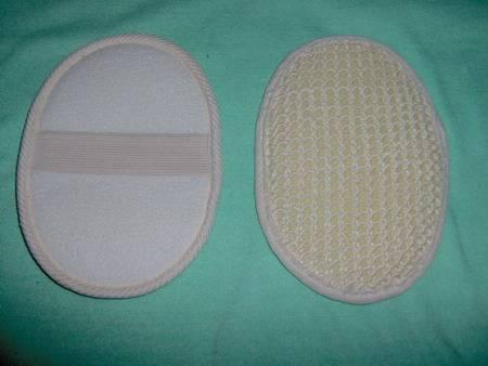 sisal bath scrubber