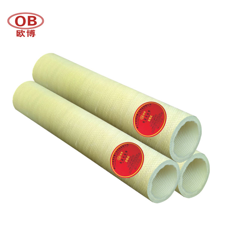 Yellow and Green Para Aramid Roller Tube Aluminum Industry