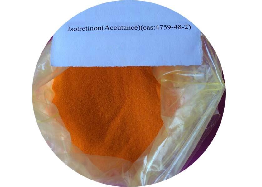 Isotretinoin / Roaccutane 13-cis Vitamin A acid CAS: 4759-48-2 Severe Acne Treatment Vitamin A