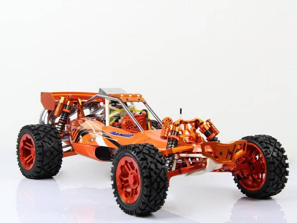 2013 30.5cc Full CNC Alloy Version baja 5b orange color  at $1299/pc  free shipping