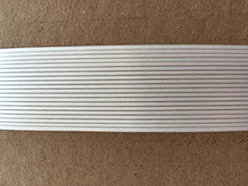 Nontwisting polyester composite strap