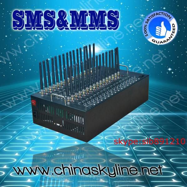Quadband/Dual band 32 Ports Rs232 GSM Modem Pool Q2403 Wavecom GSM GPRS modem