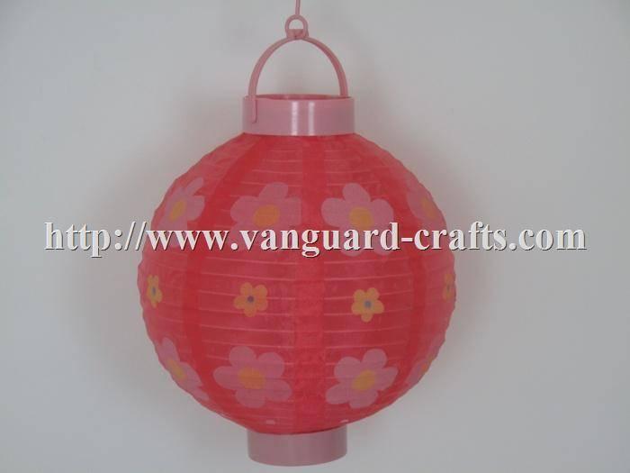 Battery Operated LED Nylon Holiday Lanterns