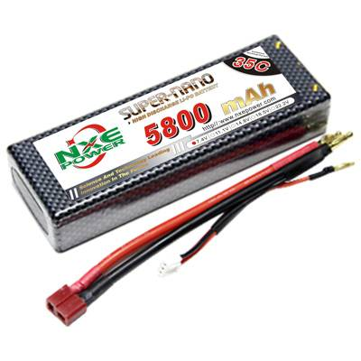 NXE5800mAh-35C-7.4V Softcase RC Helicopter Battery