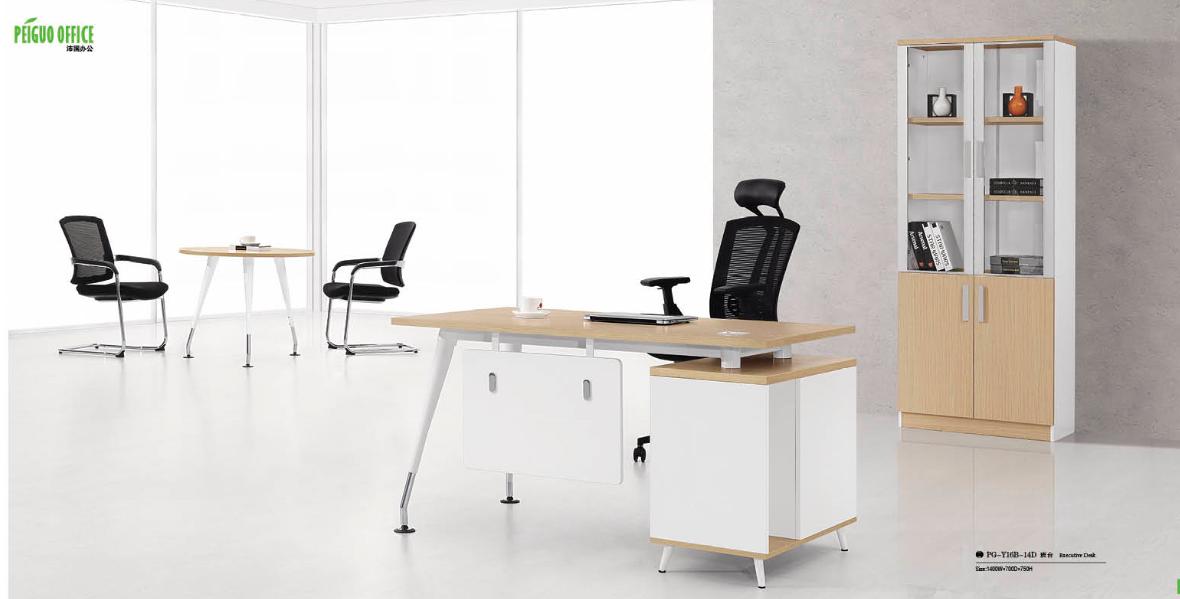 modern design office desk (PG-14B-14A)