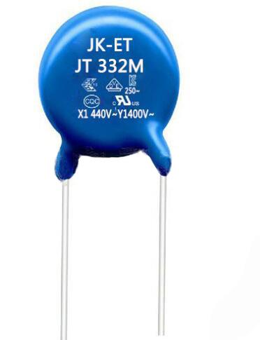 X1 440VAC Y1 400VAC ceramic disc. capacitor Y5U 20%tolerant 3300pF