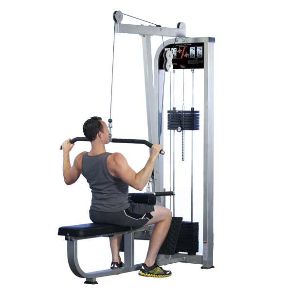 Lat Pull Down / Seated Row Gym Equipment / Fitness Exercise Multi-Station Machine