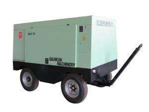Electric Displacement Screw Air Compressor (QKDY-75KW)