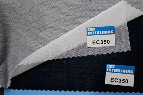 woven fusible circular knit enzyme wash interlining-EC350(interfacing)