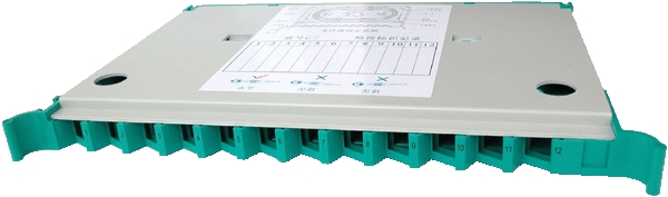 12P Fiber Optic Splicing and Termination Tray, 12 Cord Fiber Optic Termination and Splicing Panels