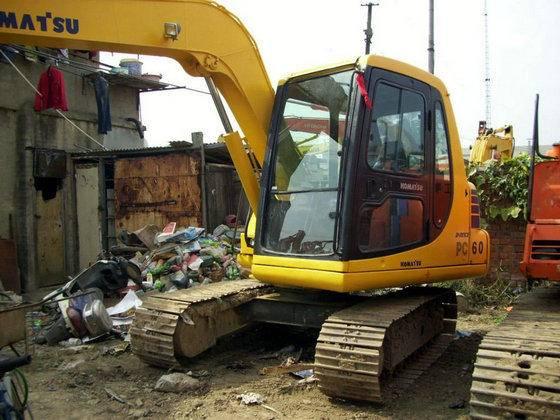 Used Japan Original Komatsu PC60-7 Crawler Excavator