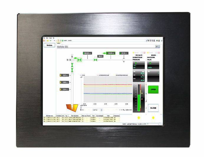 "8"" industrial panel PC IEC-608P"