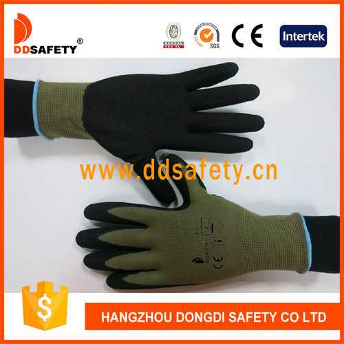 Sallow nylon with black nitrile-DNN452