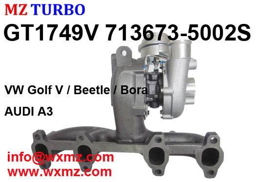 BUY Chinese high quality MZ TURBO vw 1.9 tdi GT1749v 713673-5002S