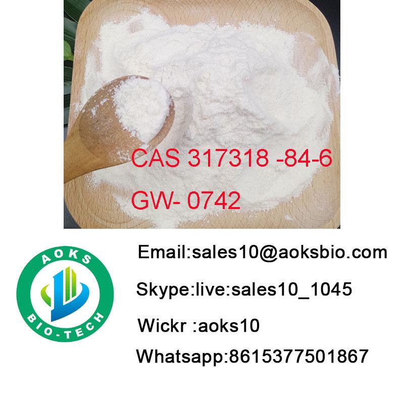Gw0742 safe clearence Steroids powder Sarms CAS 317318-84-6
