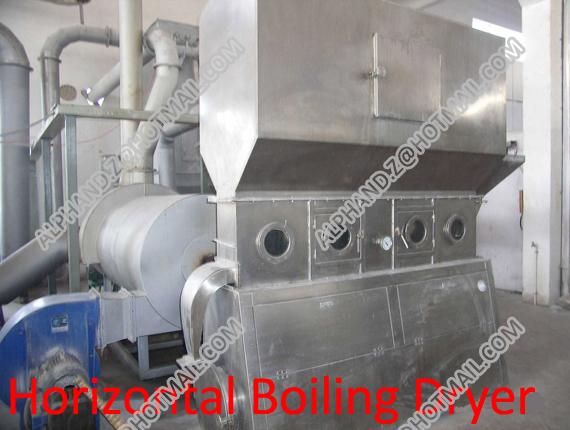 Horizontal Boiling Dryer