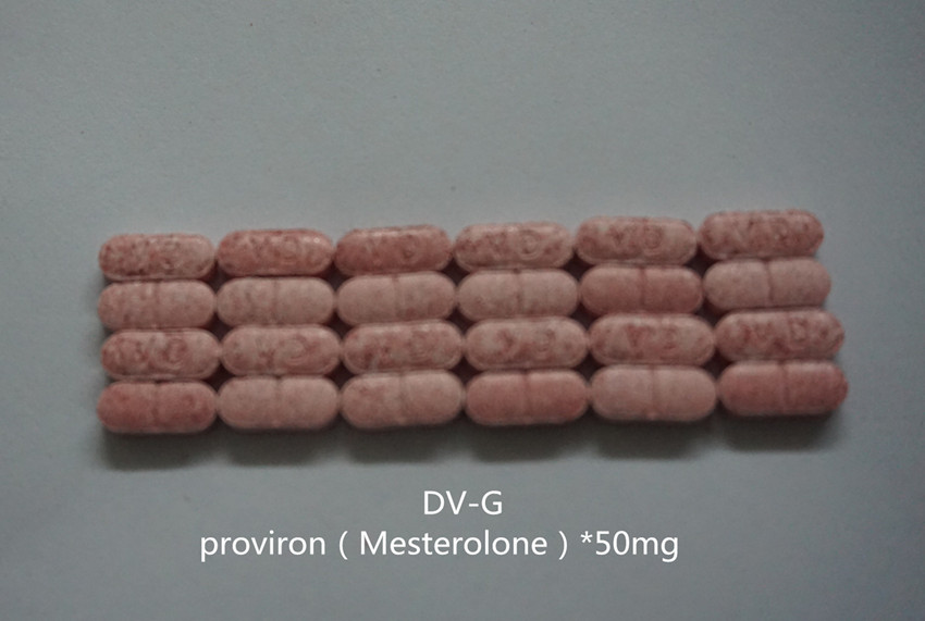 Mesterlone Oral Tablets /Proviron Pills (50mg/Piece,100P/Bottle)