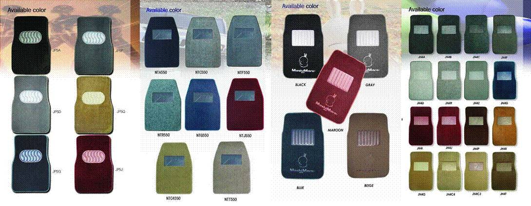 USA Premium Custom-Fit Car carpet floor mat (550g/m2 +backing:2.2mm grabber nib)