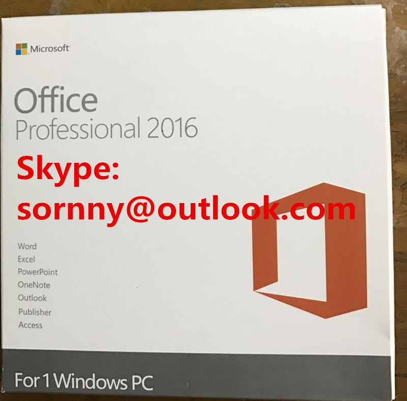 Business PKC OEM Microsoft Office 2016 Home , Microsoft Coa Sticker Retail Version