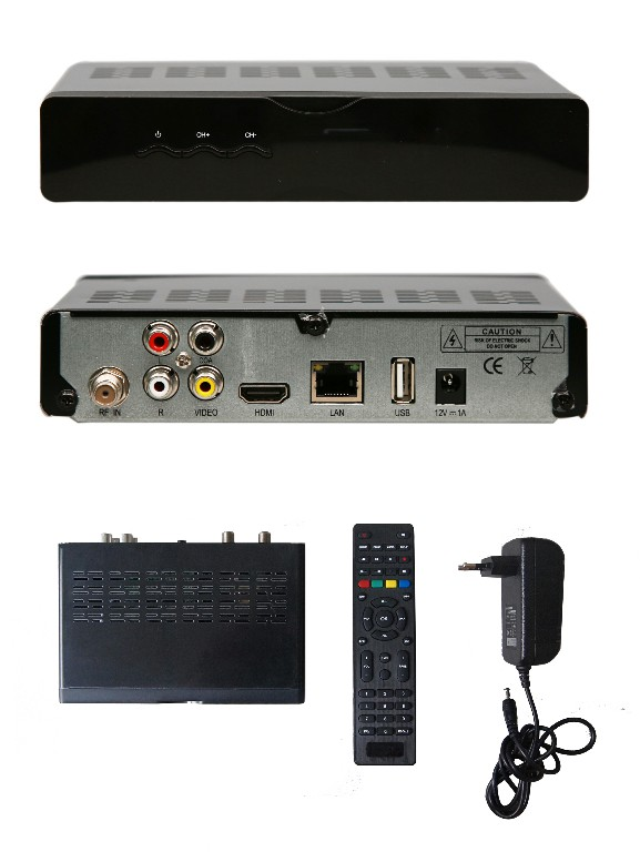 Digital Cable TV Set Top Box, Supporting CAS