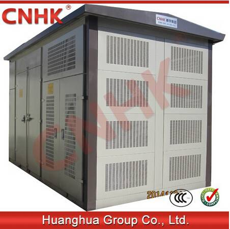 35kv wind power generation combined type transformer substation(high voltage oil immersed type switc