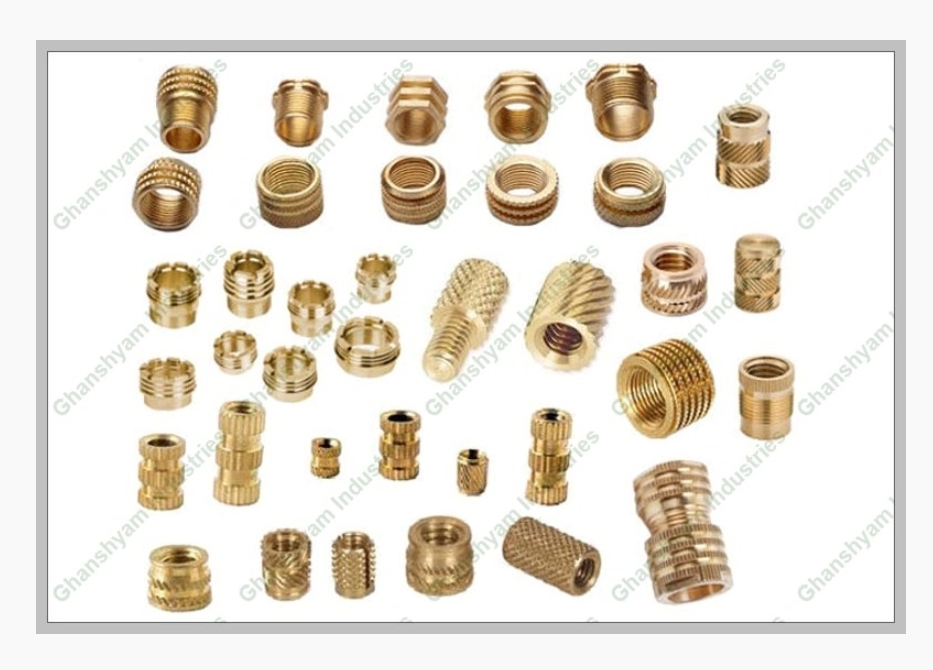 Brass turned inserts