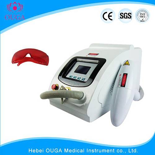 Yag laser for color tattoo removal skin pigment spot lose machine