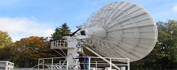 big satellite dish