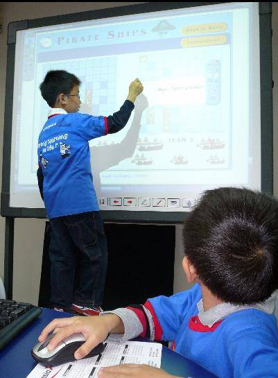 Interactive Electrical Whiteboard 58''