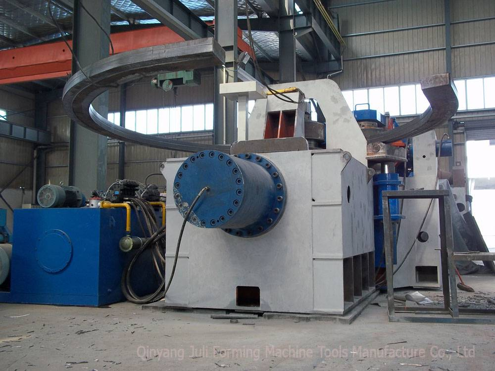 angle roller machine