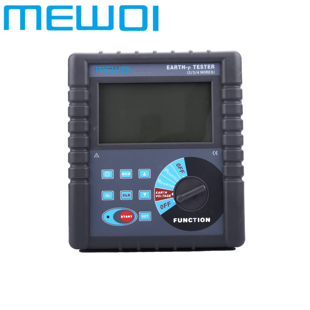 MEWOI4000-Earth Ground Resistance Tester-upgraded version