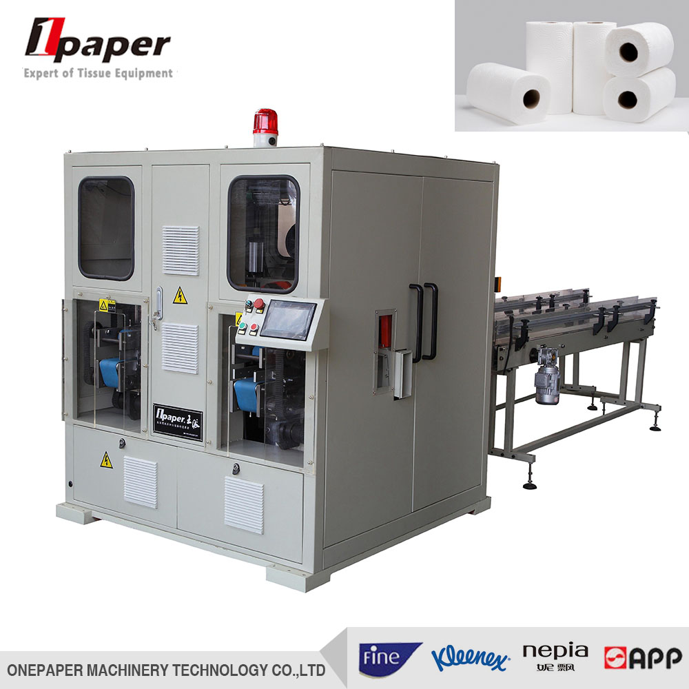 high degree automation paper napkin facial tissue making machine with cutting