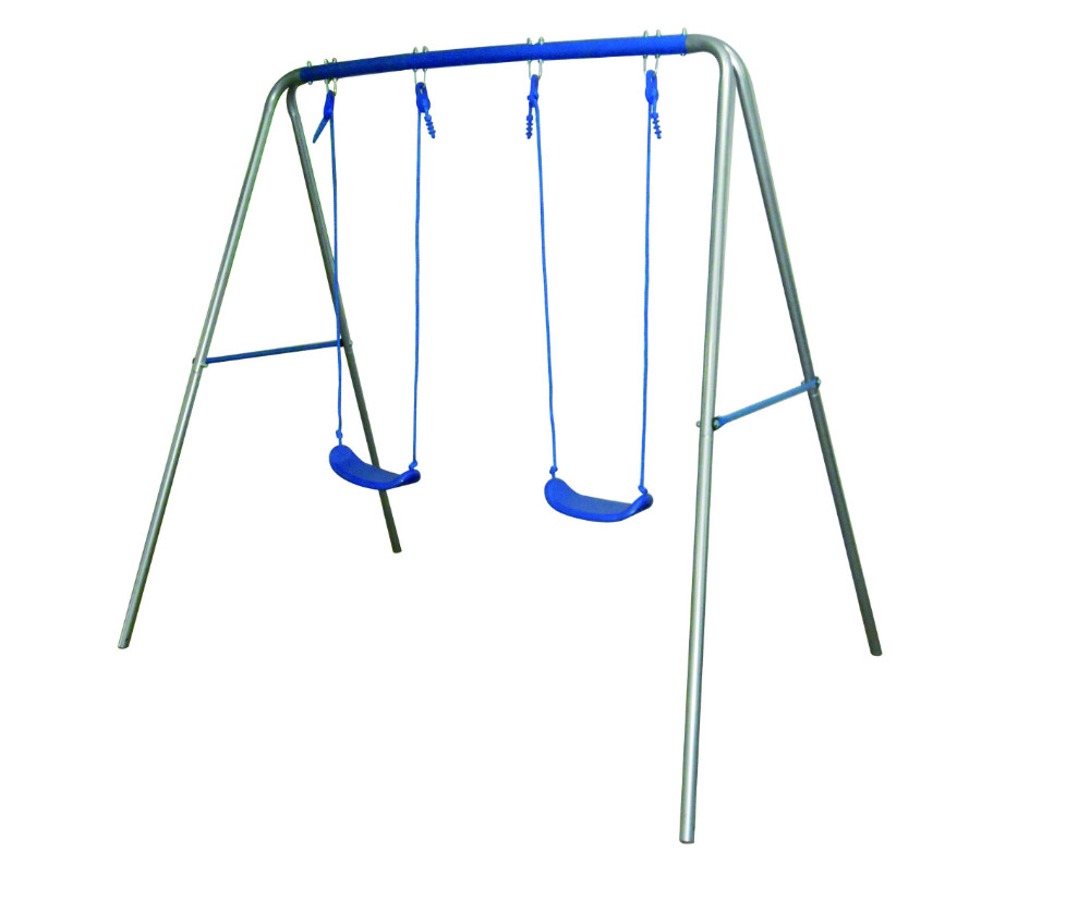 2-1 Metal Swing Set