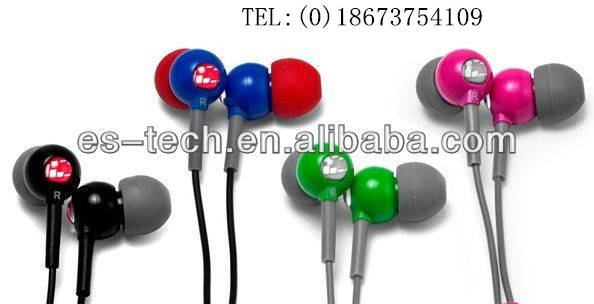 SMP3 in ear silicone earphone for girls gift